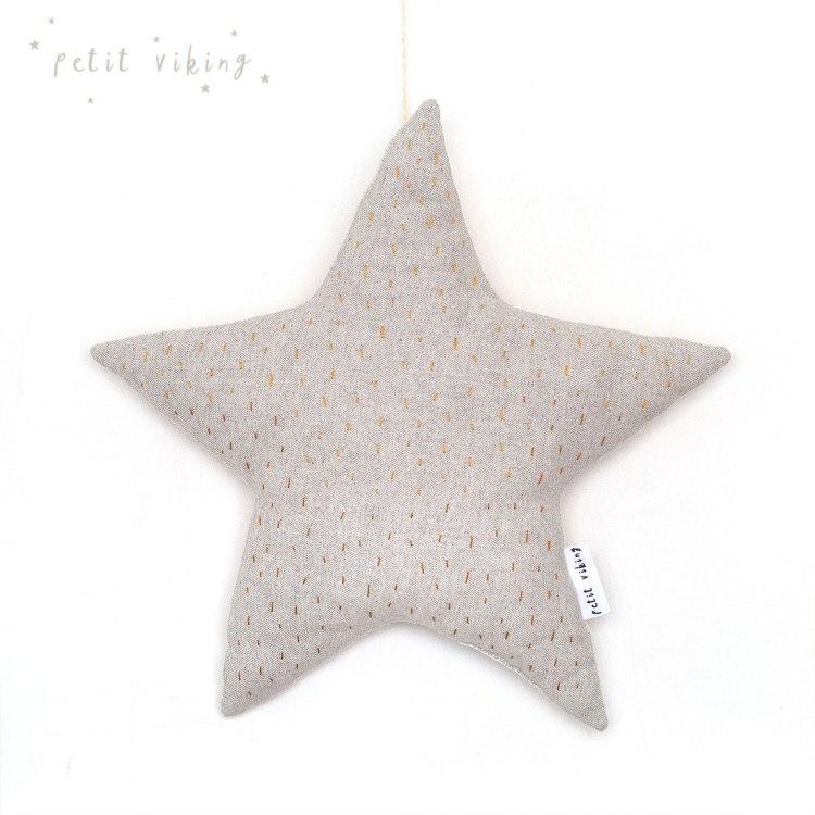 kids-cushion-kidsroom-star-petit-viking-embroidery-handmade-grey-mustard-3