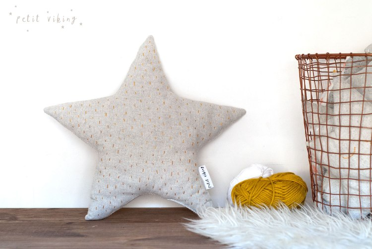 kids-cushion-kidsroom-star-petit-viking-embroidery-handmade-grey-mustard